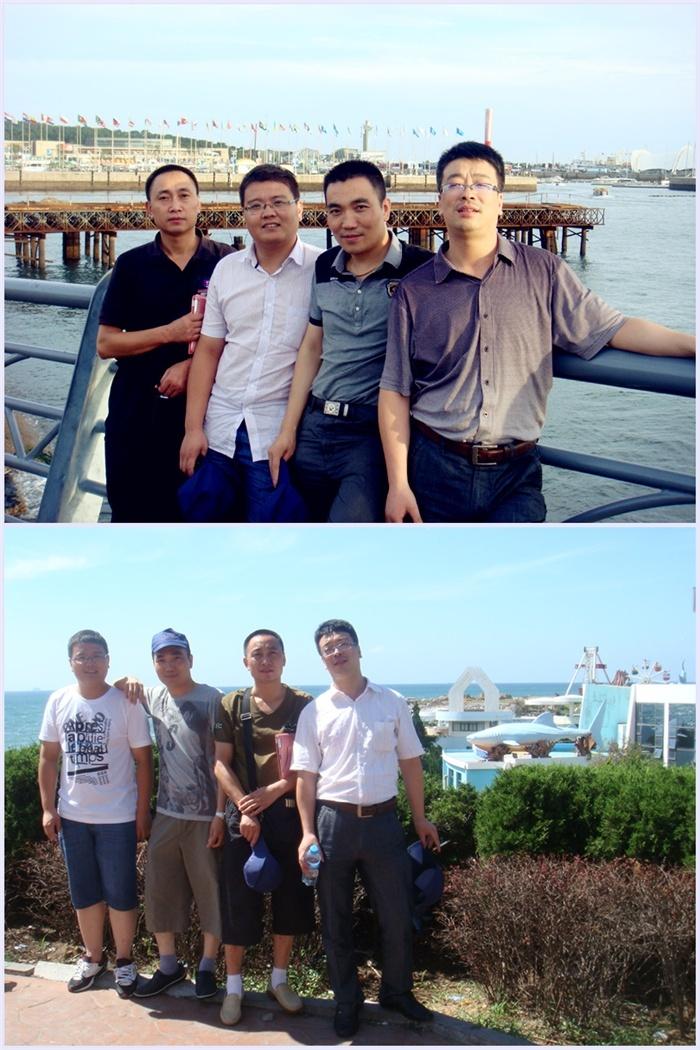 公司組織優秀員工赴青島旅游